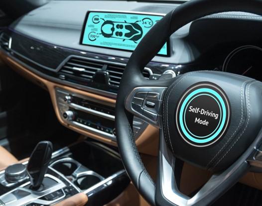 Autonomous Vehicles - Car Interior