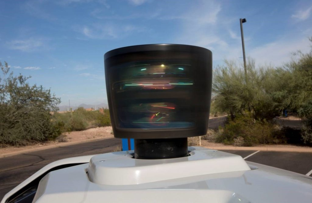 Autonomous Vehicle (AV) LIDAR sensor